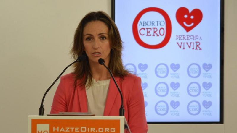 La diputada de Vox en la Asamblea de Madrid Gádor Joya