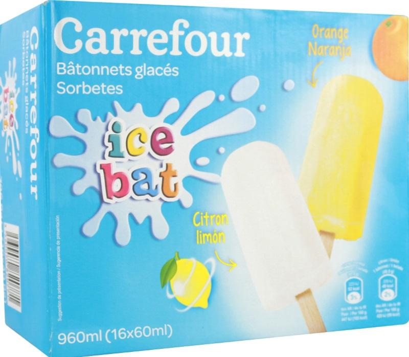 Carrefour Sorbetes