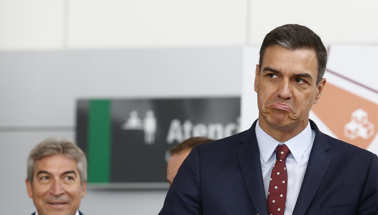 el endiablado Pedro Sánchez bilaketarekin bat datozen irudiak