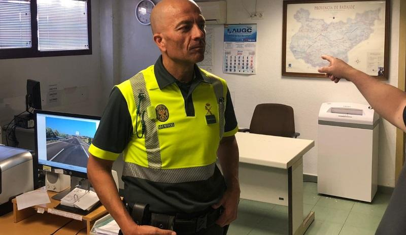 El guardia civil Claudio Rivera Tejeda. Fuente AUGC