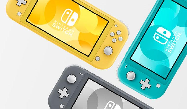 NintendoSwitchLite Colours