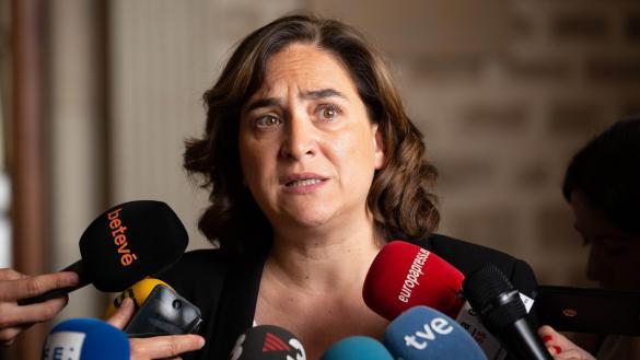 Colau siembre dudas sobre la candidatura de Íñigo Errejón