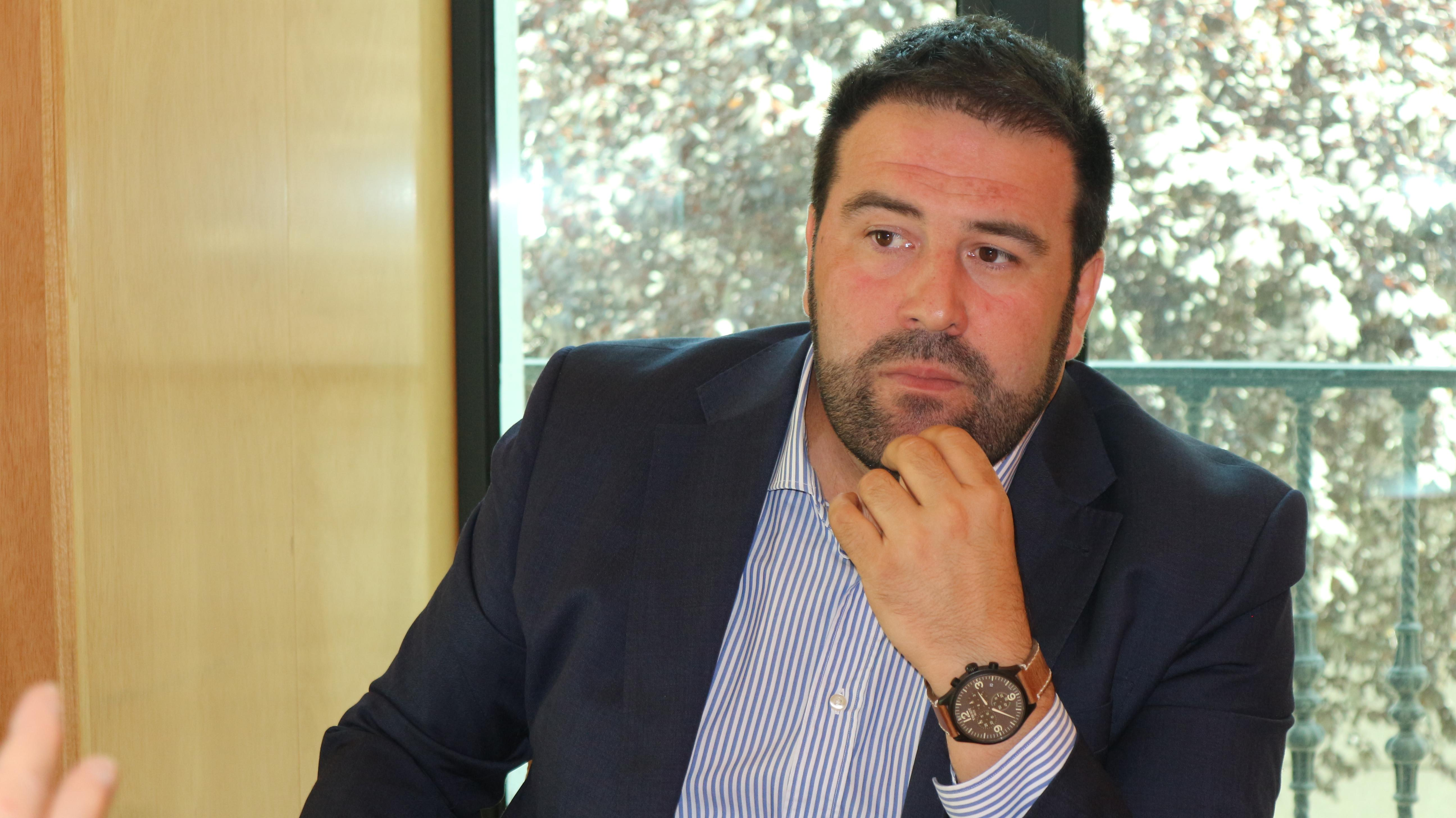 Jon Iñarritu, diputado de Bildu. OIHA VITORIA