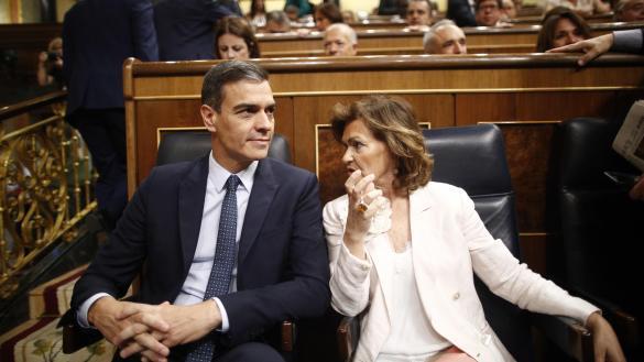Sánchez encara el bloqueo político en el que puede ser el último Pleno
