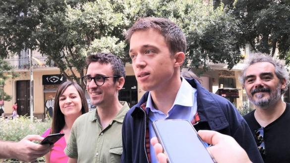 "Errejón considera la sentencia del 1-O ""desproporcionada e inútil"""