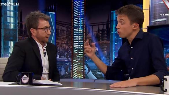 Errejón se queda a dos millones de espectadores de Santiago Abascal en El Hormiguero