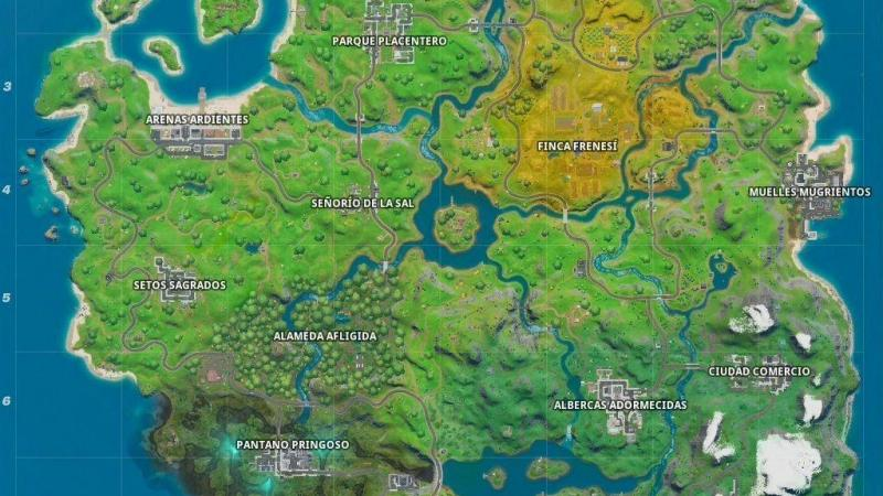 Mapa Fortnite Temporada 1.Fortnite Conoce Todas Las Novedades De La Temporada 1 De