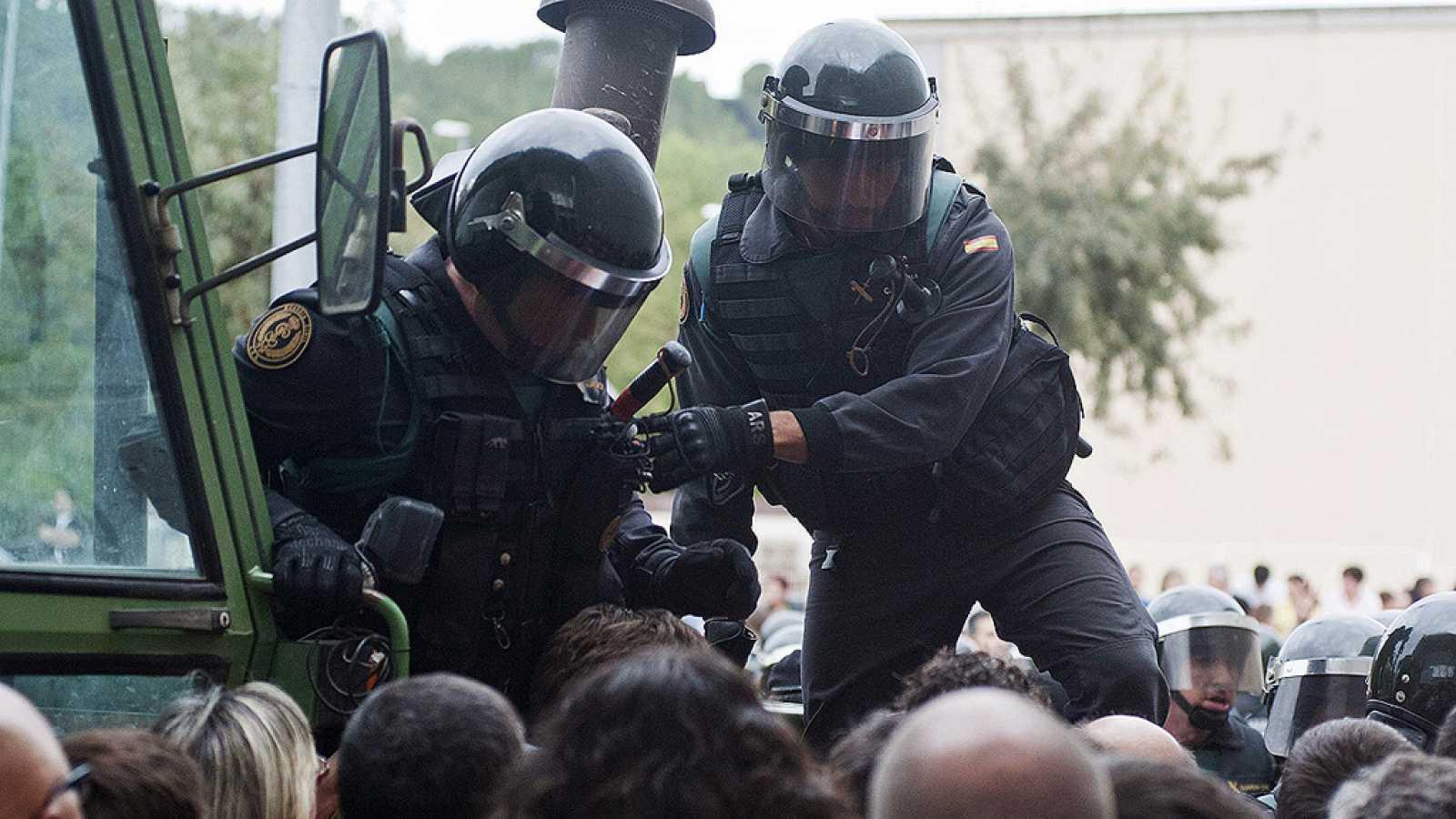 Guardias civiles en una imagen de archivo. TVE