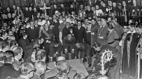 Vídeo: Así fue el entierro de Franco