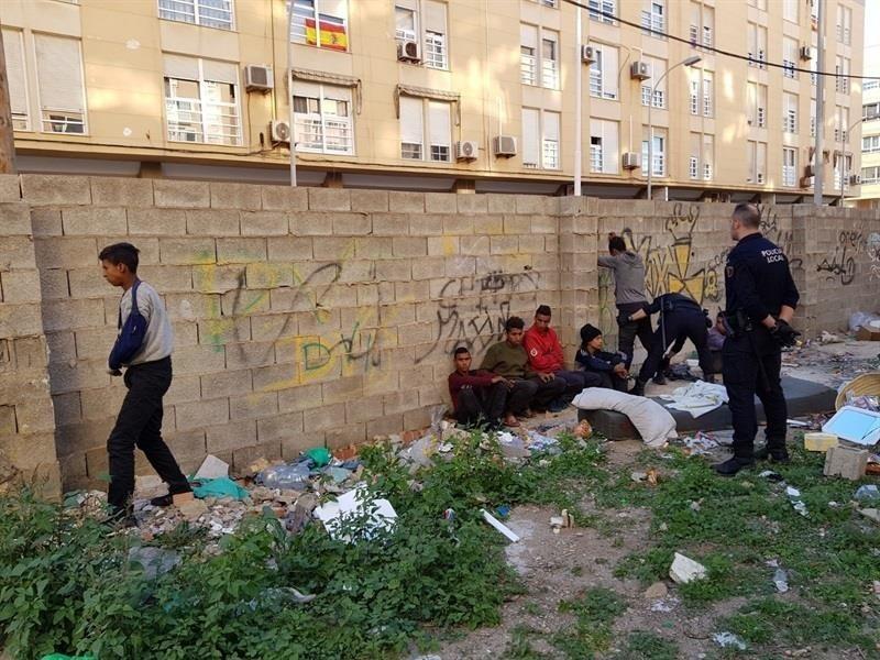 Menores extranjeros no acompañados en Melilla. Europa Press