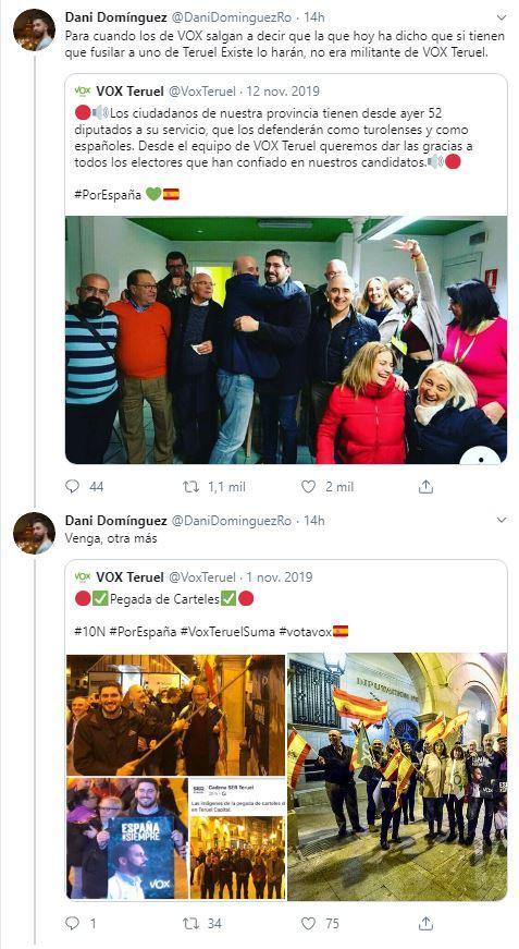 Tuits Noemí Cruz