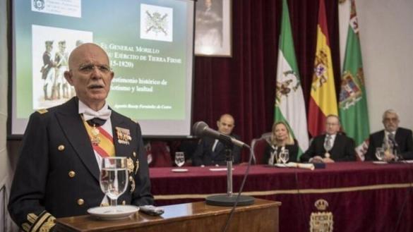 """El diputado militar de Vox llama """"engendro"""" a Andalucía, su himno y su bandera"""