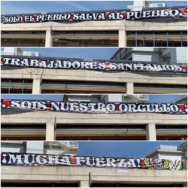 Pancarta Vallecas