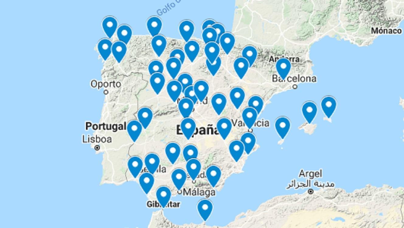 Mira los casos que hay en las diferentes provincias de España