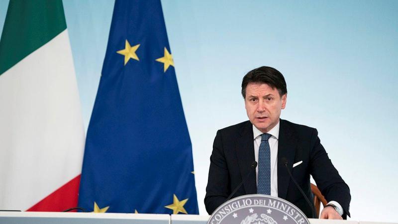 Giuseppe Conte es el primer ministro italiano, que está al frente de la crisis del coronavirus