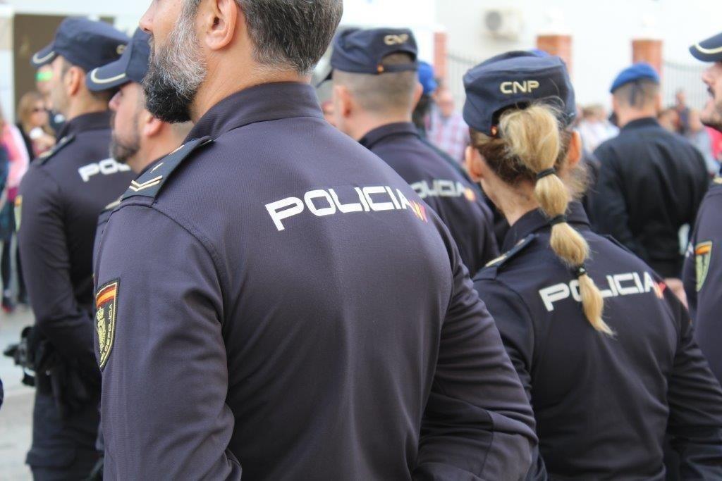 Agentes de la Policia Nacional