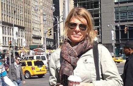 La periodista alemana Stephanie Müller.