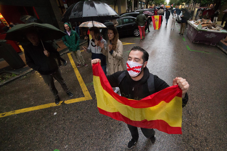 Cuánto durarán las protestas del barrio de Salamanca?