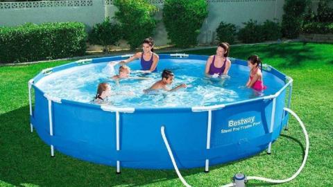 Las 5 mejores piscinas desmontables para pasar la ola de calor en casa