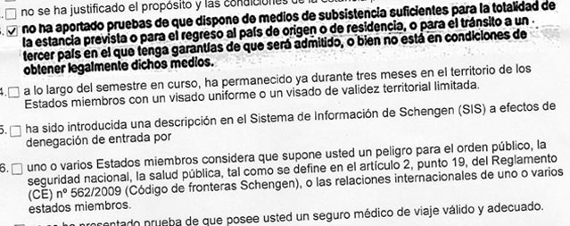 El Consulado De Espana En Quito Niega El Visado Para Estudiar En La