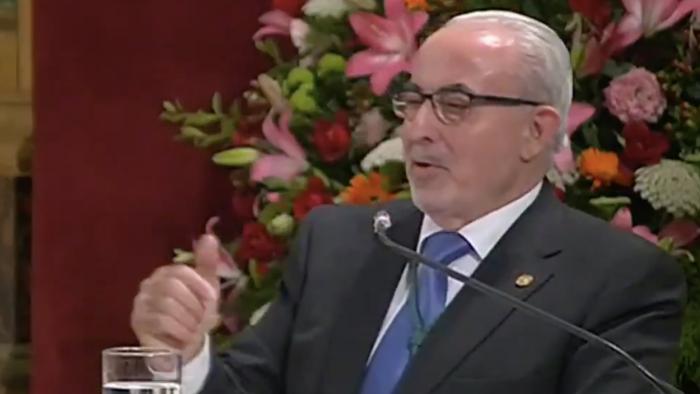 El presidente de la UCAM, José Luis Mendoza