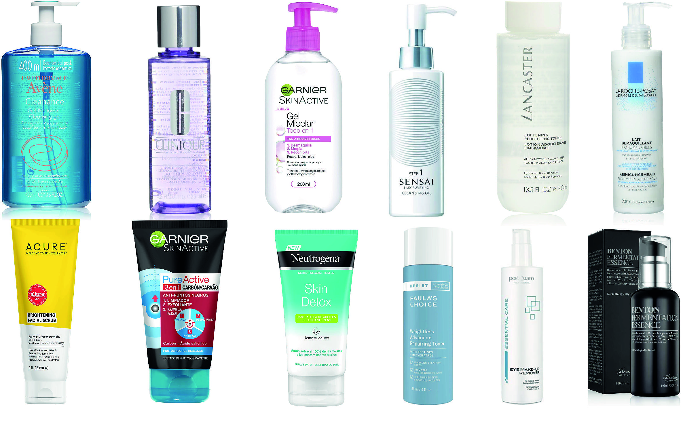 Limpieza Facial Los Mejores Exfoliantes Mascarillas Y Esencias Para La Cara