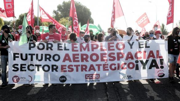 GETAFE Las protestas contra el Gobierno generaron ayer