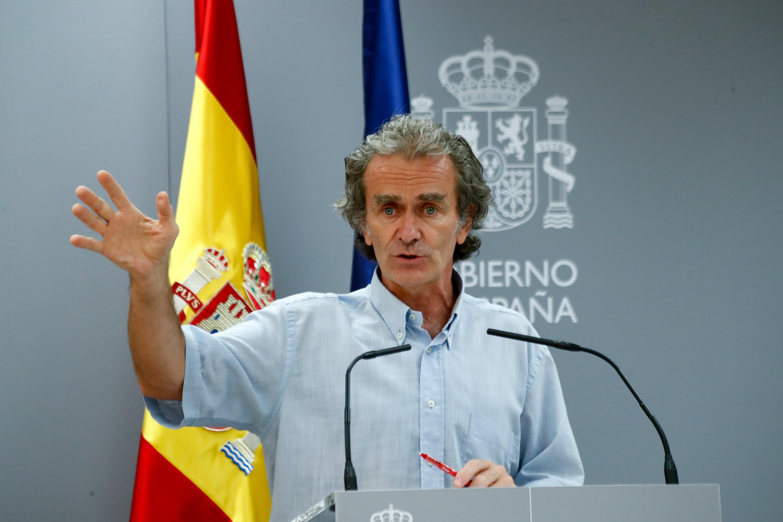 Fernando Simón ya reflexiona sobre un confinamiento en Madrid y notifica  2.060 contagios en el conjunto de España