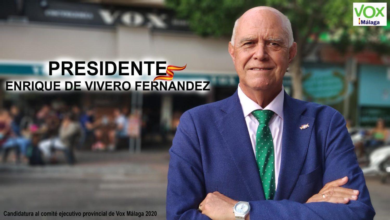 De Vivero, candidato a liderar Vox Málaga