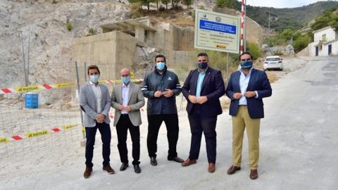 Acosol mejora la capacidad de suministro en Mijas con un depósito en La Cañada de los Canteros 2
