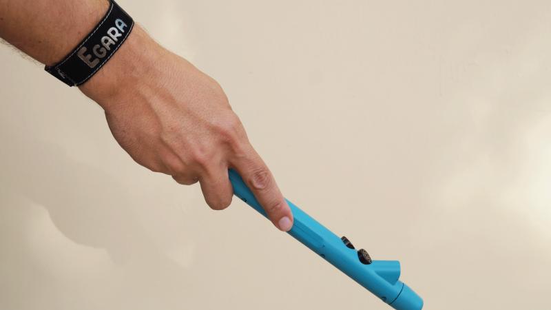 Egara se adapta a cualquier bastón de aluminio. Imagen: Instead-Technologies